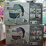 Переносная люлька-качалка Mastela 5 в 1 для новорожденных , Оригинал, фото 7