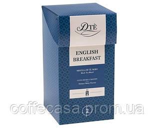 Черный чай DTe English Breakfast фильтр-пак 12 шт