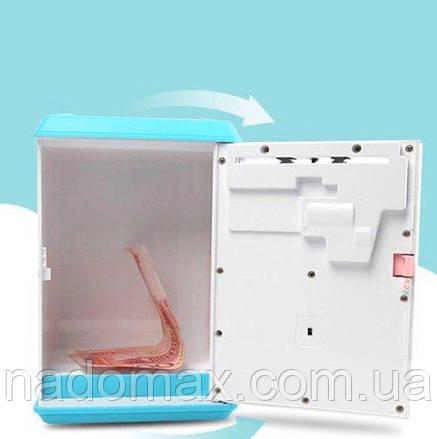 Электронная Копилка сейф с отпечатком пальца и кодовым замком 906, фото 2