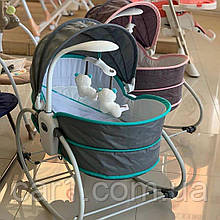 ЛЮЛЬКА-КАЧАЛКА 6037 Mastela 5 в 1 для новорожденных , Оригинал
