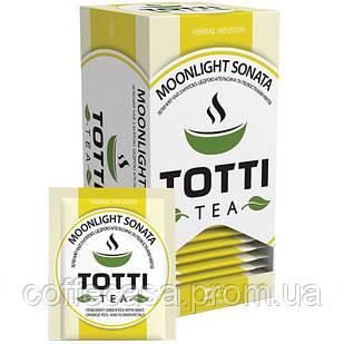 Травяной чай TOTTI Tea Лунная Соната в пакетиках 25 шт