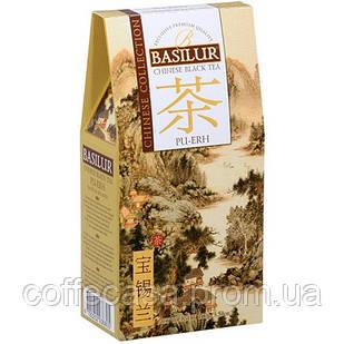 Черный чай Basilur Пуэр картон 100 г