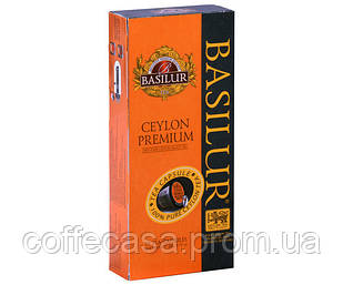Чай в капсулах Nespresso Basilur Ceylon Premium 10 шт