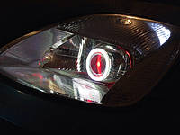 """НАШИ РАБОТЫ: Установка биксеноновых линз Koito Q5 3.0"""" в Ford Fiesta"""