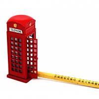 LONDON телефонная будка - точилка, Веселая канцелярия