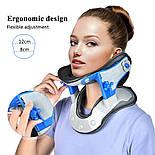 Нагревательный медицинский шейный воротник для шейного отдела позвоночника, фото 3