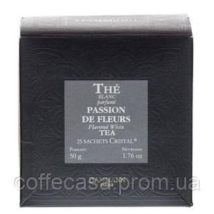 Белый чай Dammann Freres Цветочная страсть в пакетиках 25 шт