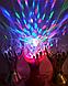 Настольный Проектор Сфера Ночник Лампа Шар Светодиодная диско, фото 4