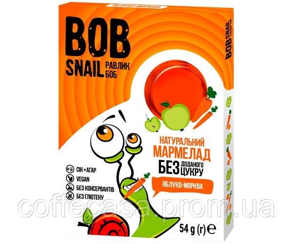 Мармелад Bob Snail Яблоко-Морковь 54 г