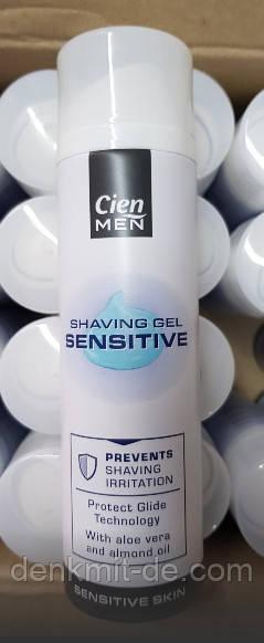 Гель для бритья Cien Men Sensitive 200 мл