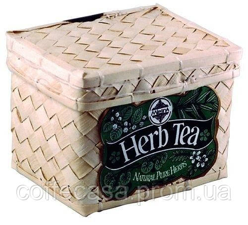 Травяной чай Сбор трав в пакетиках Млесна плетенная шкатулка 25 г