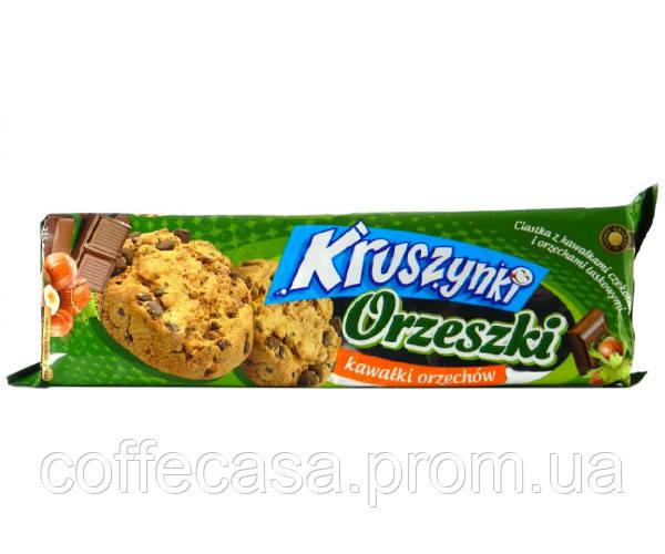Печенье Kruszynki с орехами 225 г