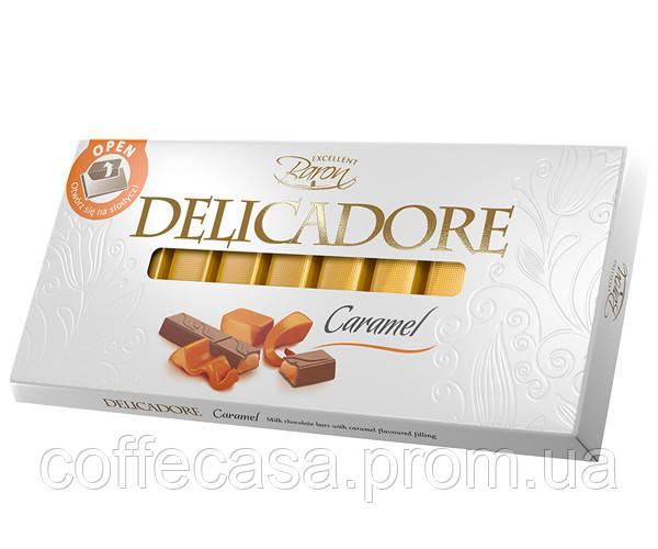Молочный шоколад Delicadore Карамель 200 г