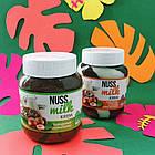 Шоколадная паста Nuss Milk какао-молочная со вкусом ореха 400 г, фото 2