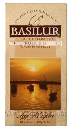 Черный чай Basilur Рухуну картон 100 г