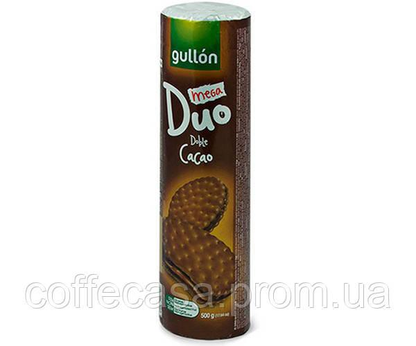 Печенье GULLON Duo Mega двойной шоколад 500 г (8410376044409)