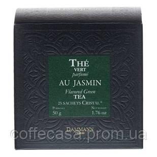 Зеленый чай Dammann Freres Жасмин в пакетиках 25 шт
