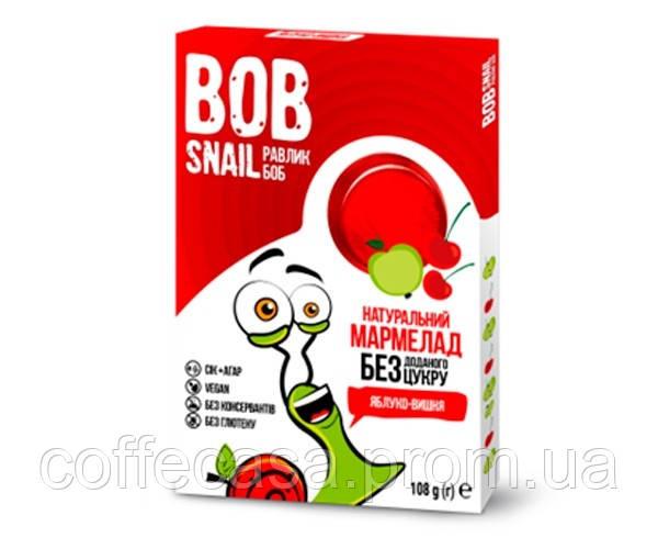 Мармелад Bob Snail Яблоко-Вишня 108 г