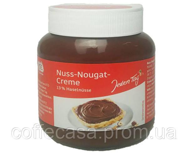 Ореховая паста Jeden Tag Nuss-Nougat-Creme 400 г (4306188047124)