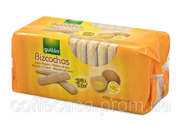 Печенье GULLON Savoiardi Bizcocho 400 г (8410376035391)