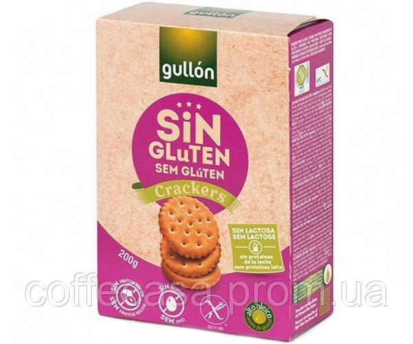 Печенье GULLON без глютена Crackers sin Gluten 200 г (8410376045017)