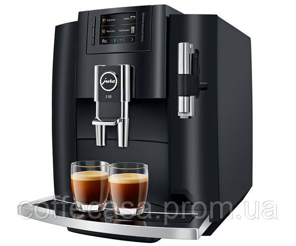 Кофемашина Jura E80 Piano Black