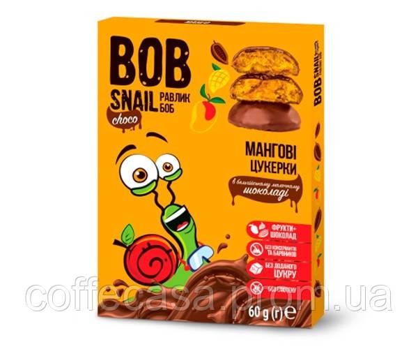 Конфеты Bob Snail Манго в молочном шоколаде 60 г