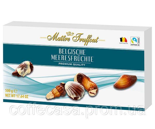 Конфеты Maitre Truffout Sea shells BLUE Пралине 500 г (9002859109577)
