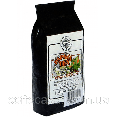 Зеленый чай Папайя Млесна пак. из фольги 100 г