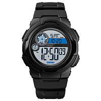 Мужские спортивные часы Skmei 1437 черные, фото 1