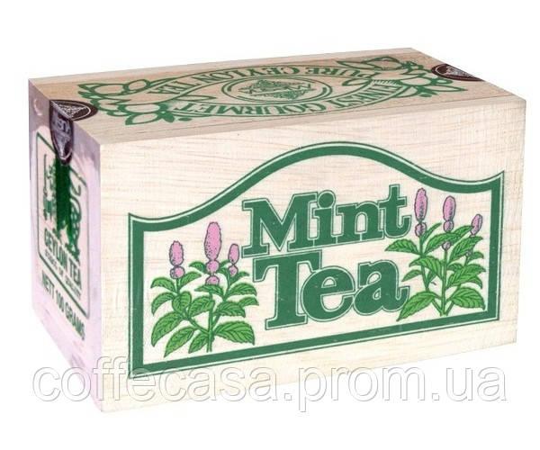 Черный чай Мята Млесна д/к 100 г