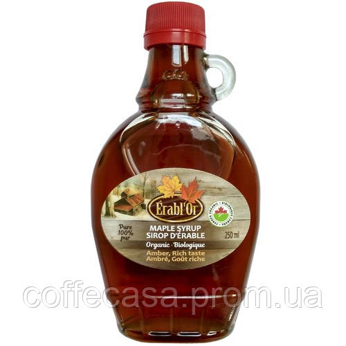 Кленовый сироп Erabl'Or Leone Canada 250 мл