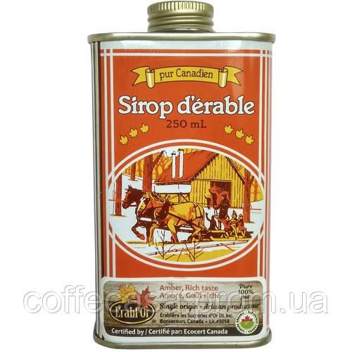 Кленовый сироп Erabl'Or в металлической фляге Canada 250 мл
