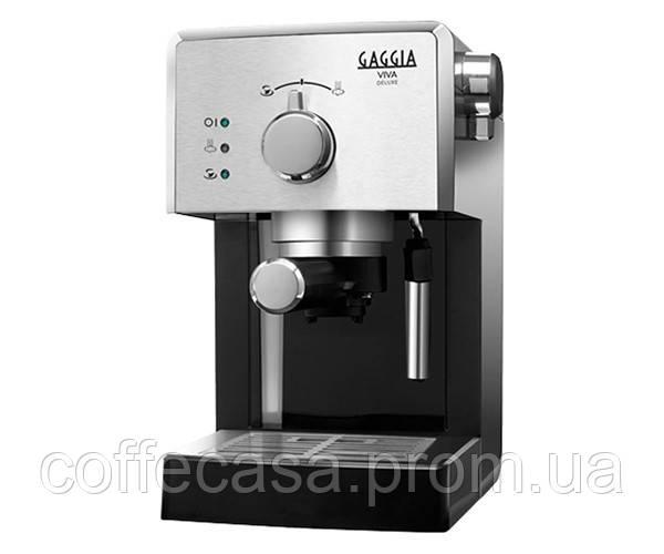 Кофемашина Gaggia Viva Style Deluxe Black RI8435/11