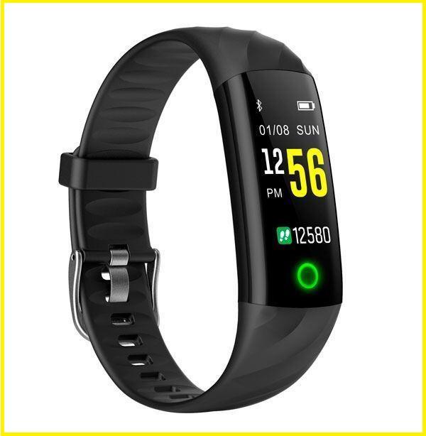 Smart Watch S5 спортивные Смарт-часы браслет c цветными ремешками ( Черный, Синий, Красный )