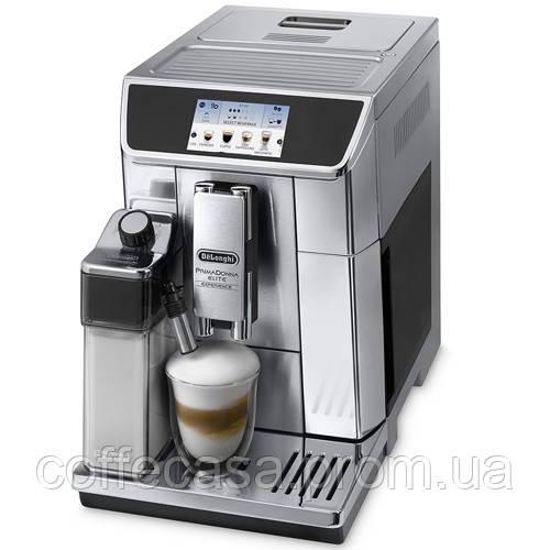 Кофемашина DeLonghi ECAM 650.85 MS PrimaDonna Elite Experience