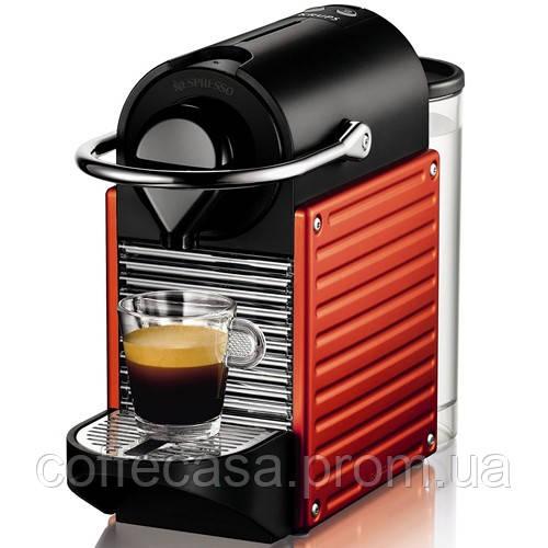 Кофемашина Nespresso Pixie Electric Red