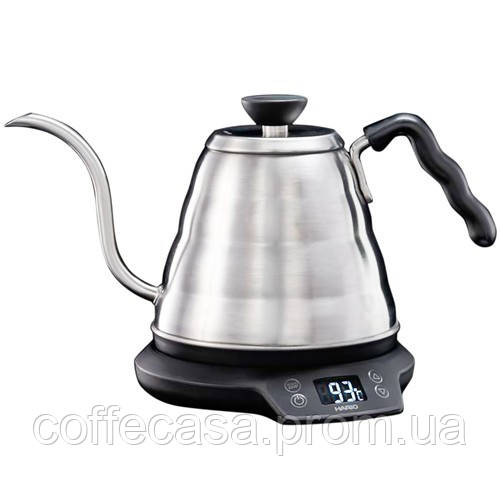 Чайник с регулировкой температуры Hario Buono 800 мл (EVKT-80E-HSV)