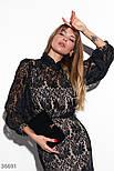 Платье с цветочным кружевом, фото 2