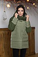 Женская демисезонная куртка с капюшоном AZ-319, 3 цвета
