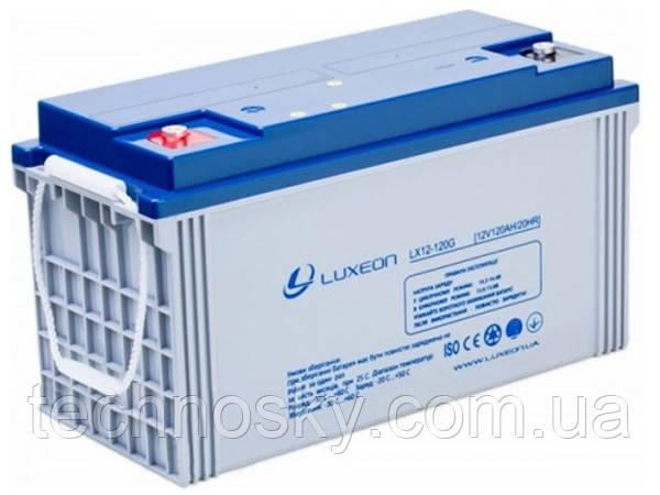 Гелевый аккумулятор GEL-VRLA Luxeon LX12-120G
