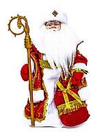 Музичний Дід Мороз 1315-16 під ялинку з посохом співає і рухається 40 см