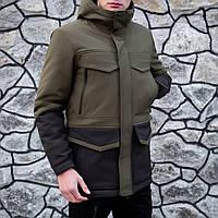 Куртка мужская теплая. Длинная мужская куртка. Зимняя длинная куртка. Мужская куртка хаки