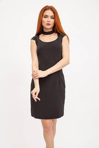 Платье женское 104R030 цвет Черный, фото 2