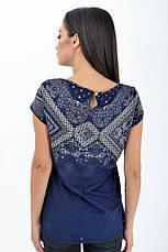 Блуза женская 516F451 цвет Темно-синий, фото 2