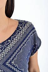 Блуза женская 516F451 цвет Темно-синий, фото 3