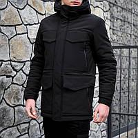 Куртка мужская теплая. Длинная мужская куртка. Зимняя длинная куртка. Мужская куртка Чёрная