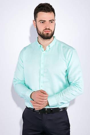 Рубашка 511F011 цвет Мятный, фото 2