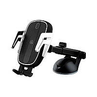 Автомобильные аксессуары Usams Usams Car Holder US-CD101 Wireless Charger Black (CD101ZJ01) (30734)