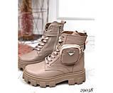Ботинки демисезон бежевые, фото 2